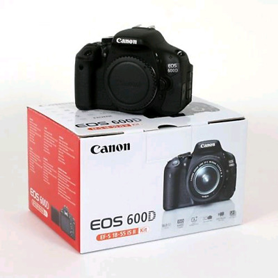 Canon EOS 600D Camera with 2 lens  18-55mm & 24mm