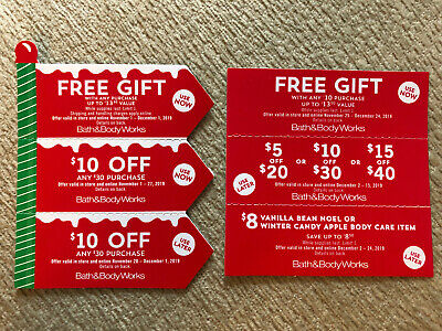 6 Bath & Body Works Coupons