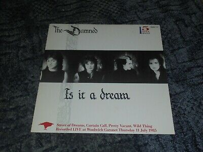 The Damned - Is It A Dream  - 12 Single - Vg Condition -