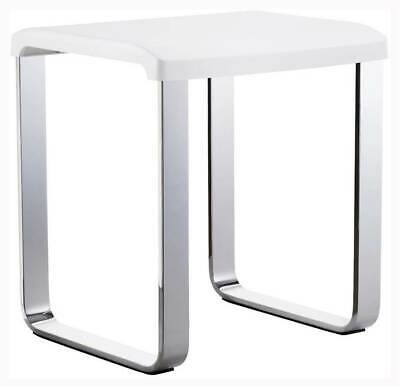 Aluminum Shower Chair in White [ID 3444160]