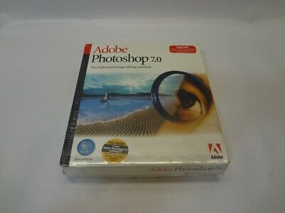 Adobe Photoshop 7.0 *New Unused*