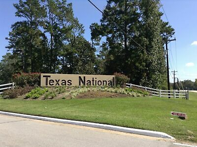 Two Combined Golf Course Lots North of Houston near Lake Conroe