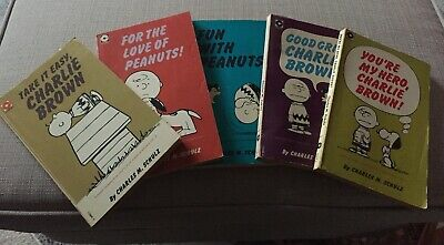 Charlie Brown Vintage Comic Books