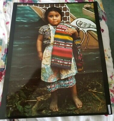 Ann Parker One of a Famous Series of Photographs of Guatemala