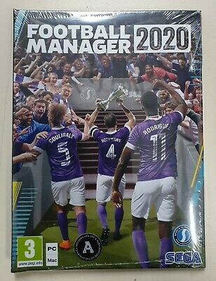 Football Manager 2020 - PC DVD - New & Sealed - Fast Dispatch