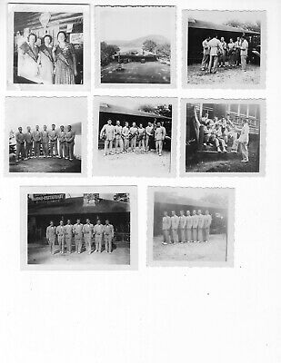 Vintage photos 1940's Band store front Lodge  8 photos