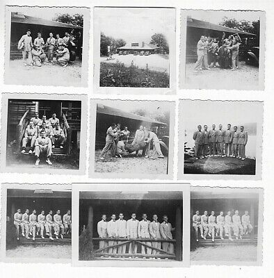 Vintage photos 1940's Band store front Lodge 9 photos