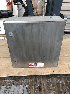 Rittal Stainless Steel Control Panel Box Ex Brewery
