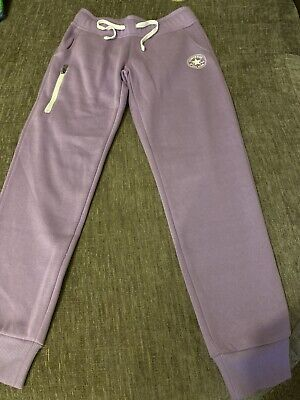 Girls Converse Jogging Bottoms Age 10-12 BNWOT