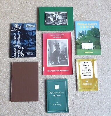 JOB LOT of  7x BOOKS - LEWES (East Sussex)