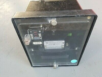 GE General Electric Overcurrent Relay 12IFC51A1A 60 Hertz Used