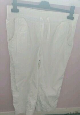 Girls next pink cropped trousers age 16 years great condition