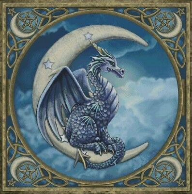Proud Dragon Cross Stitch Chart