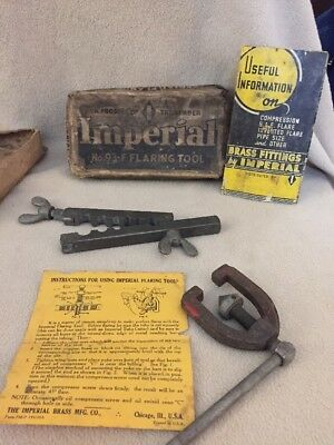 Imperial Flaring Tool 93-F Made In USA Vintage