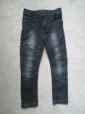 Boys Next Black Denim Jeans Age 6