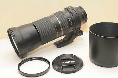 Used Tamron SP A011 150-600mm f/5-6.3 Di VC USD Telezoom Lens for Canon DSLR