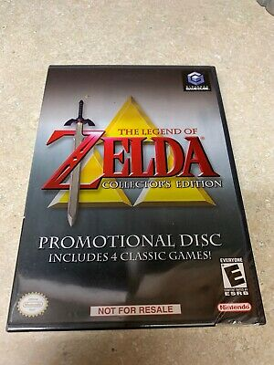 Legend of Zelda Collector's Edition (Nintendo GameCube, 2003) Brand new! y-folds
