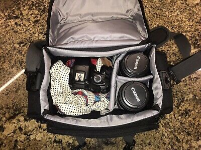 Canon EOS Rebel T3 Kit With 50 Mm Lens, 18-55mm Macro Lens, And 75-300mm Lens