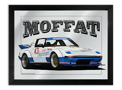 Bar Mirror Suit Allan Moffat Mazda Rx7 1981