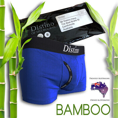 Mens Underwear - Men's Bamboo Boxer Briefs - Trunks - Jocks * TEST PAIR OFFER! *