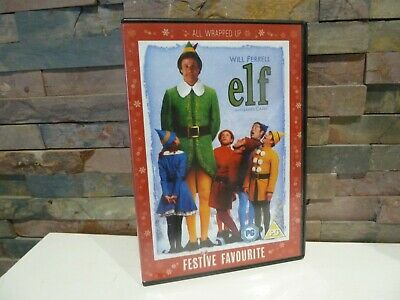 Classic : Elf (Will Ferrell)  Dvd - Christmas Festive Movie.
