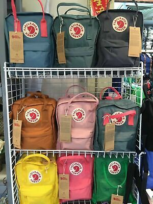 Fjallraven Kanken Backpack Sport School Rucksack Travel Bag Handbag 7L/16L/20L