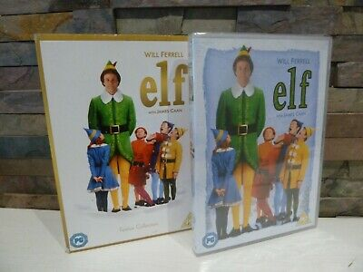 new/sealed CLASSIC : ELF (WILL FERRELL)  DVD - CHRISTMAS FESTIVE MOVIE.