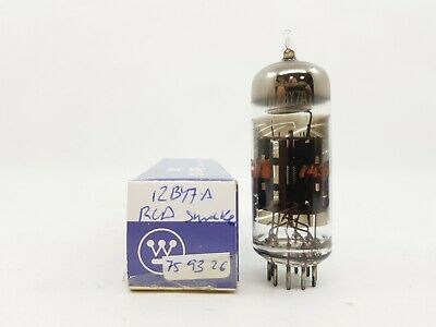 12By7A Tube. Rca Brand Tube. Solid Getter Used Tube.  Rcu3