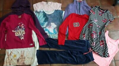 Girls Clothes winter christmas Bundle Age 8 - 9 years Next M&S top lego hoodie