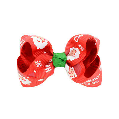 Headband Bow Band Hair Accessories Baby Toddler Infant Christmas Kids Girl #12
