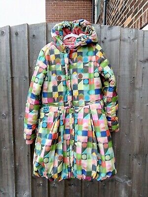 Oilily Puff Ball Girls Coat Age 9 - 10 (140)