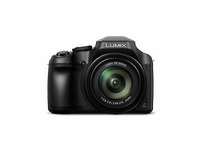 Panasonic Lumix Digital Camera (Bridge) with 4K Video DC-FZ82EBK