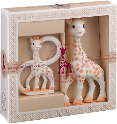 SOPHIE THE GIRAFFE TEETHER SET Baby Teether Toy BN