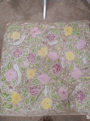 Vintage National trust Silk Scarf