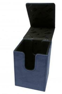 Ultra Pro Card Protection Suede Alcove Tower Deck Box - Sapphire MINT