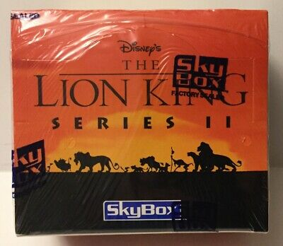 Skybox Disney Lion King Series 2 Trading Cards Factory Sealed Box - 36 Packs