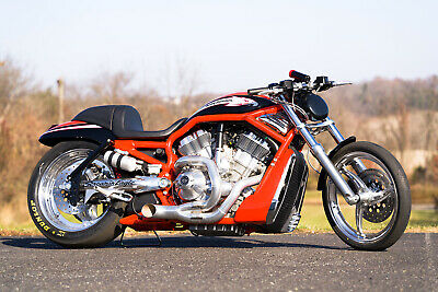 2006 Harley-Davidson V-ROD  2006 Harley-Davidson V-Rod VROD Destroyer VRXSE Drag Race Racing Strip Package
