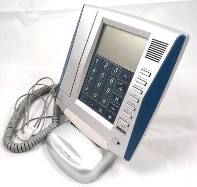 Speaker Caller ID LCD Touch Panel Phone With 12 Digit Calculator