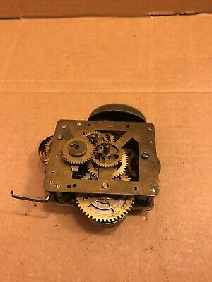 Vintage LSM Alarm Clock Mechanism / Movement, Made in Scotland - Spares / Repair