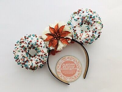 Jolly Holiday Christmas Disney Insp Mickey Minnie Mouse Ears Princess Treats