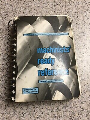MACHINISTS' READY REFERENCE  7th EDITION