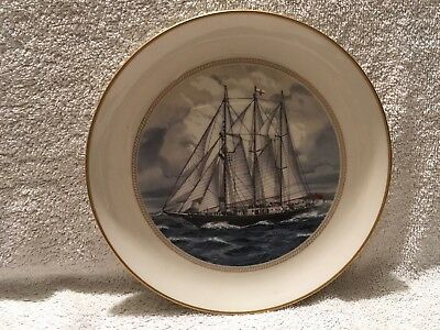 Tall Ships Limited Edition Plate - Sir Winston Churchill