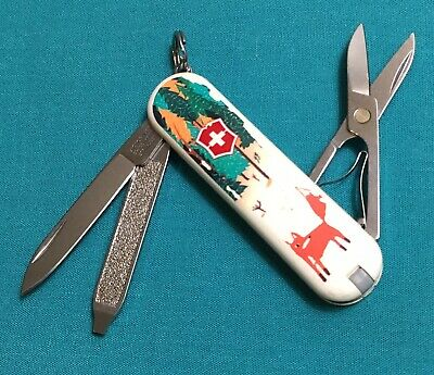 Victorinox Swiss Army Pocket Knife - Limited 2013 Classic SD - Foxy Design