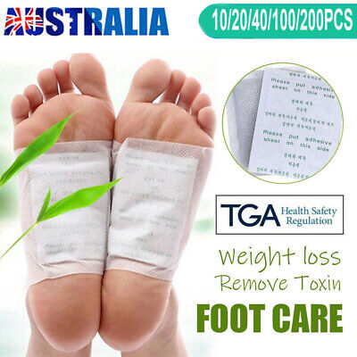 800PCS Detox Kinoki Foot Patch Pad Natural plant Herbal Toxin Removal Weight