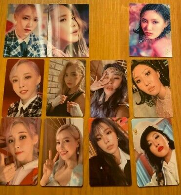 MAMAMOO 2nd Album Reality In Black Official Photocards (HIP) USA Seller SHIPPING