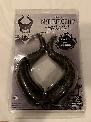 Genuine Disney Maleficent Deluxe Horns Halloween Costume Cosplay