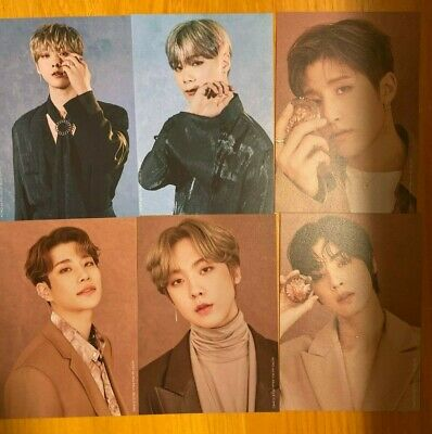 ASTRO Blue Flame Official Postcards (BOOK / STORY) USA Seller SHIPPING