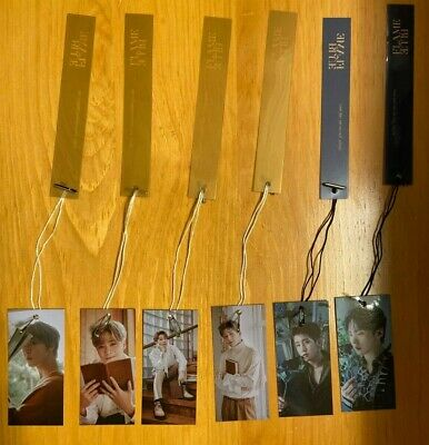 ASTRO Blue Flame Official Bookmarks (BOOK / STORY) USA Seller SHIPPING