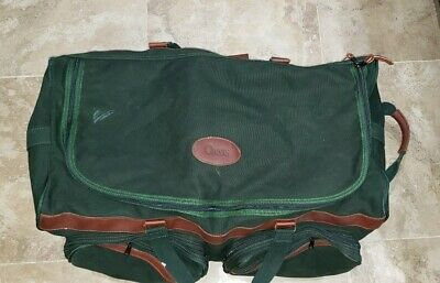 Vintage Orvis Battenkill Duffle Bag Luggage  On Wheels