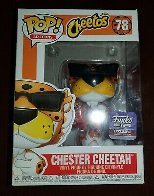 Funko Pop Ad Icons Chester Cheetah Hollywood HQ Grand Opening Exclusive